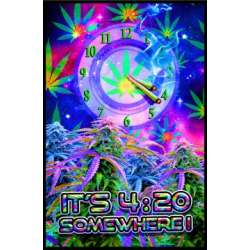 Poster Ultravioleta - it´s 420