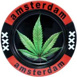 Cenicero de metal Amsterdam...