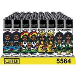 Clipper con diseño de Rastaman #1