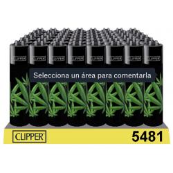 Clipper negro con diseño...